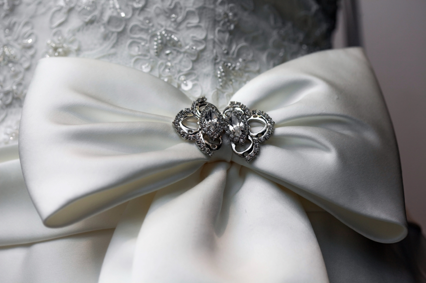 Wedding Bow with Pin